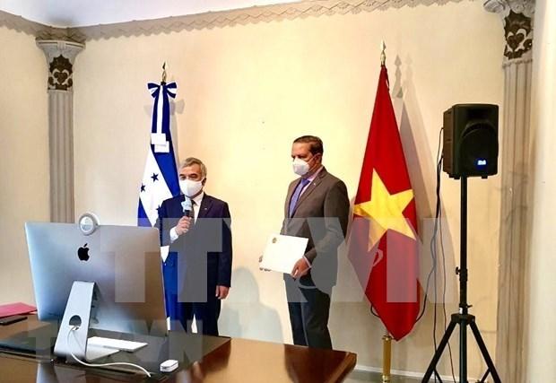 Le Honduras souhaite promouvoir ses relations d'amitie et de cooperation avec le Vietnam hinh anh 1