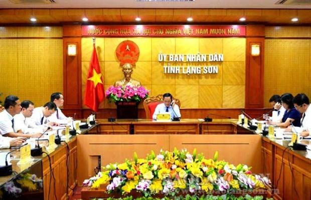 Resserrer les relations entre Lang Son et le Guangxi (Chine) hinh anh 1