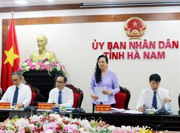 Le Japon salue le potentiel d'investissement de la province de Ha Nam hinh anh 1