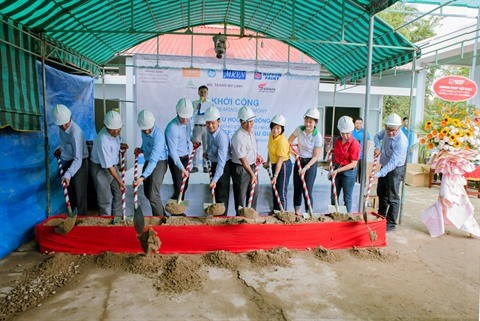Renovation d'une ecole grace a l'ONG Saigon Children's Charity hinh anh 1