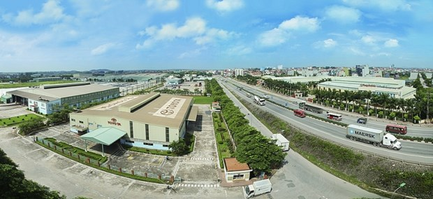 Vinh Phuc attire les investissements dans les zones industrielles hinh anh 1