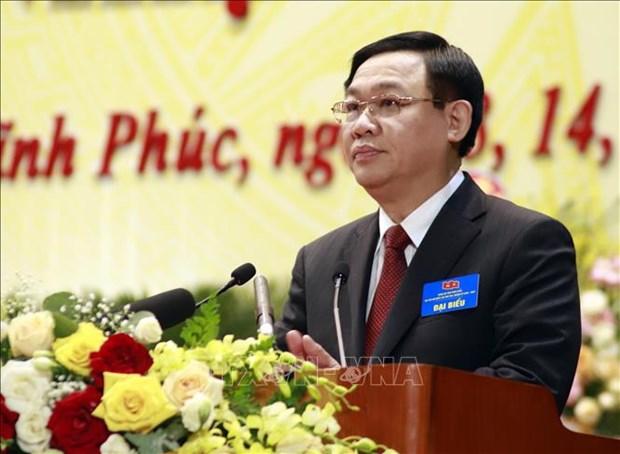Ouverture du 17e Congres de l'organisation du Parti de la province de Vinh Phuc hinh anh 1