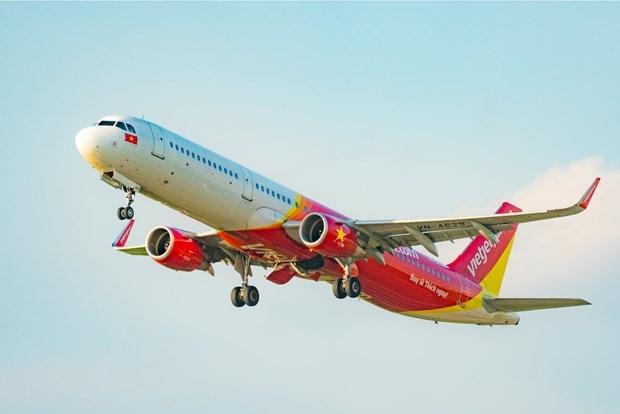 Vietjet Air offre une double promotion sur les vols interieurs et frais de bagages hinh anh 1