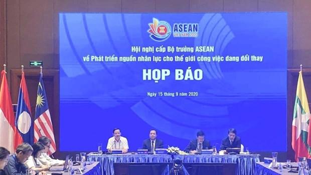L'ASEAN renforce la cooperation dans le developpement des ressources humaines hinh anh 1