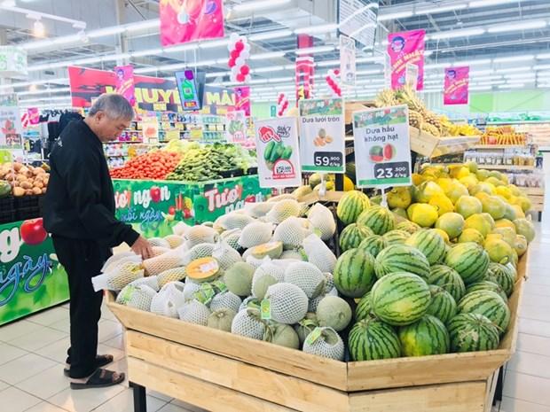 Les ventes au detail des dix mois dans la province de Vinh Phuc en legere hausse hinh anh 1