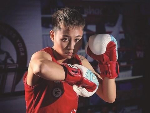 Un destin coup de poing pour cette boxeuse de Muay thai hinh anh 1