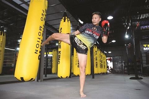 Un destin coup de poing pour cette boxeuse de Muay thai hinh anh 2