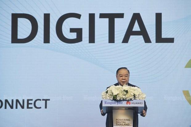 La Thailande veut devenir un centre numerique de la region hinh anh 1