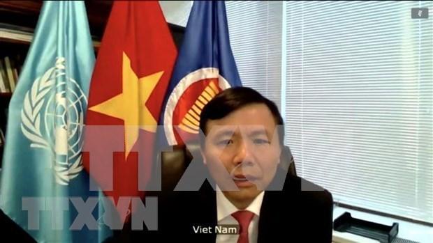 Le Vietnam soutient la reprise des negociations de paix en Syrie hinh anh 1