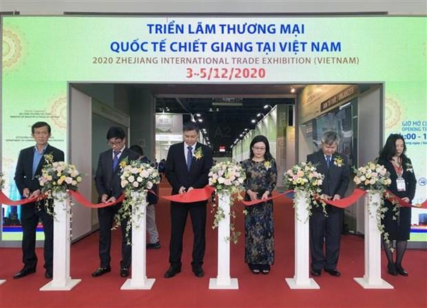 Foire-exposition du commerce international du Zhejiang 2020 a Ho Chi Minh-Ville hinh anh 1