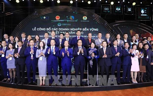 Top 100 des entreprises durables au Vietnam en 2020 hinh anh 1