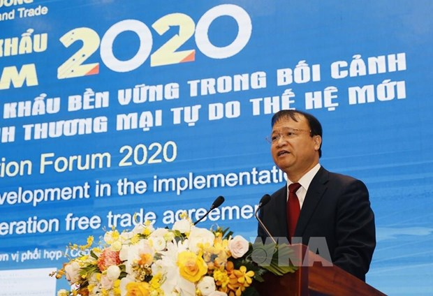 Les exportations vietnamiennes de 267 milliards de dollars en 2020 hinh anh 1