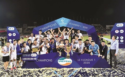 Le football vietnamien se prepare a marquer les competitions asiatiques hinh anh 1