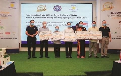 Le prix Golf Saigontourist et sa mission pour la communaute hinh anh 1