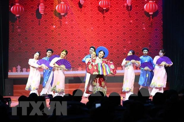 Gala artistique saluant le Nouvel An 2021 a Hanoi hinh anh 1