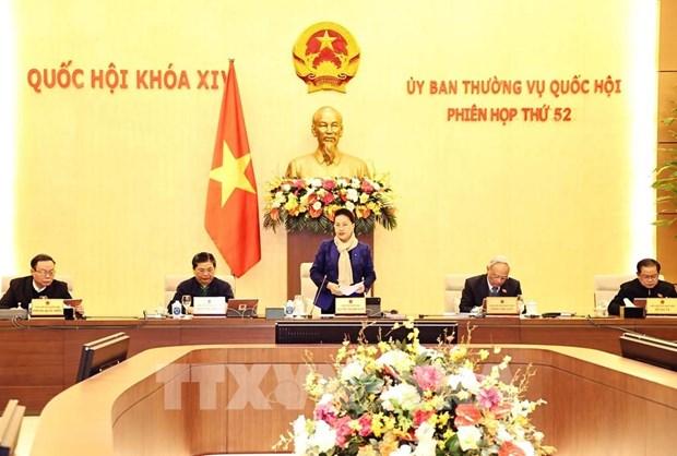 Ouverture de la 52e session du Comite permanent de l'Assemblee nationale hinh anh 1