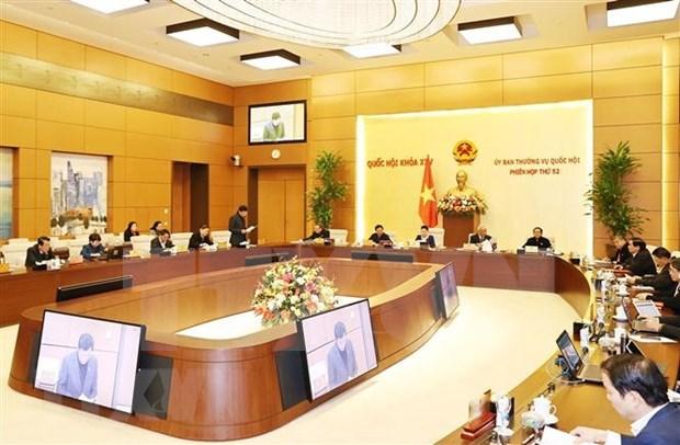 Ouverture de la 52e session du Comite permanent de l'Assemblee nationale hinh anh 2