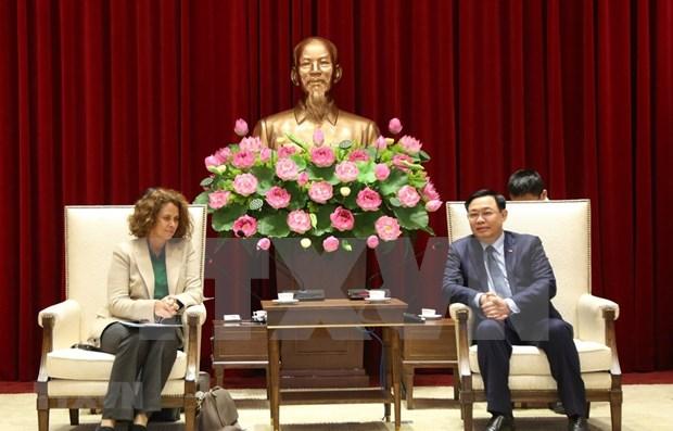 Hanoi souhaite cooperer avec la BM dans l'administration urbaine hinh anh 1