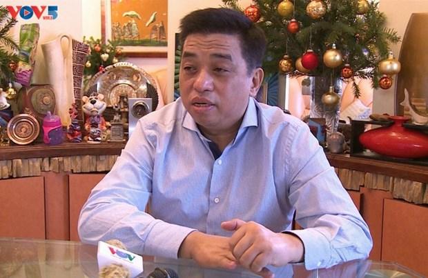 Les Vietnamiens de Russie attendent beaucoup du 13e Congres national du Parti communiste hinh anh 1
