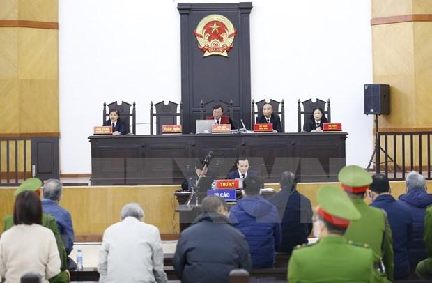Report pour la 2e fois du proces de Vu Huy Hoang et de ses complices hinh anh 1