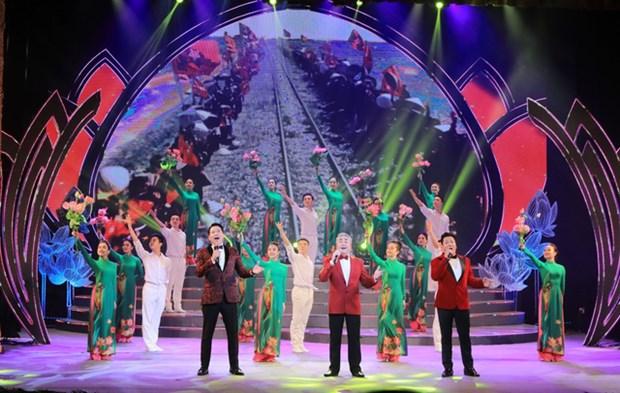 Gala de musique pour celebrer le XIIIe Congres national du Parti hinh anh 1