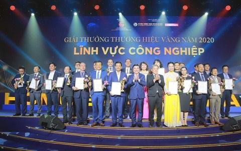 Remise des prix de la Marque d'or de Ho Chi Minh-Ville a 30 entreprises hinh anh 1