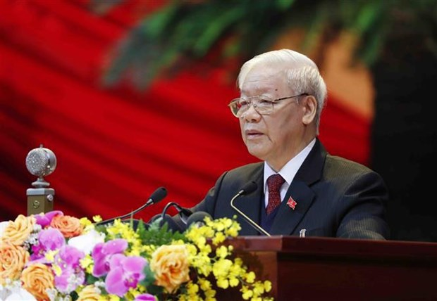 Ouverture du 13e Congres national du Parti a Hanoi hinh anh 1