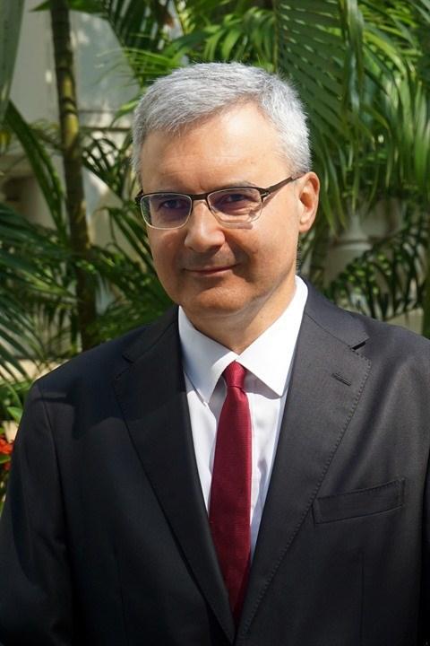 L'ambassadeur Nicolas Warnery :