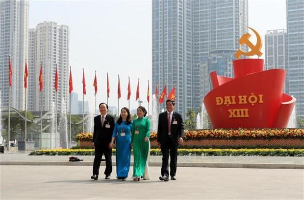 Les Vietnamiens aux Etats-Unis croient au succes du 13e Congres du Parti hinh anh 1
