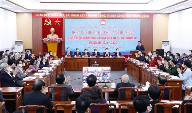 Elections legislatives : conference consultative sur la presentation de candidats hinh anh 1