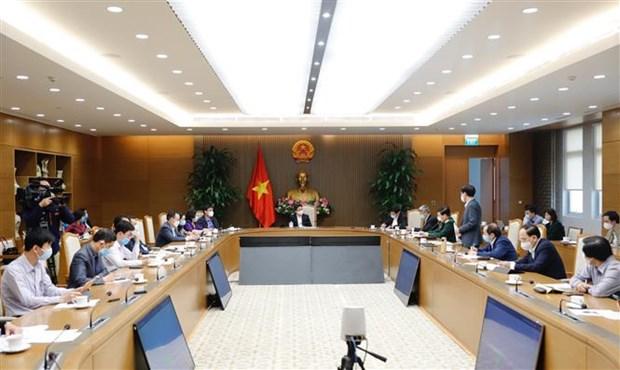 Hai Duong doit poursuivre les tests et le tracage du COVID-19 hinh anh 1