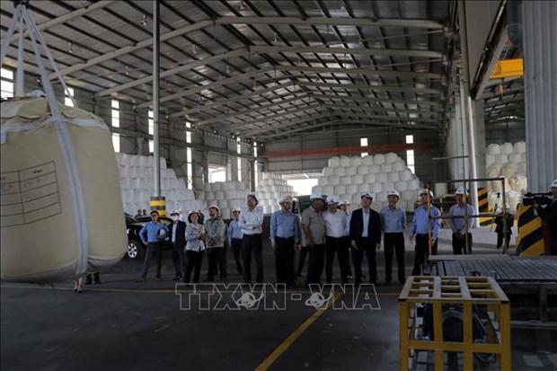 Une delegation de l'AN supervise les projets de bauxite de Vinacomin au Tay Nguyen hinh anh 1