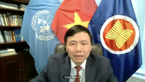 ONU : le Vietnam appelle a l'assistance humanitaire en Syrie afin d'alleger les souffrances hinh anh 2