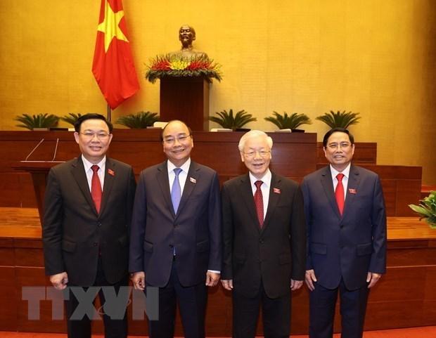 La presse mexicaine met en lumiere le nouveau contingent de dirigeants vietnamiens hinh anh 1