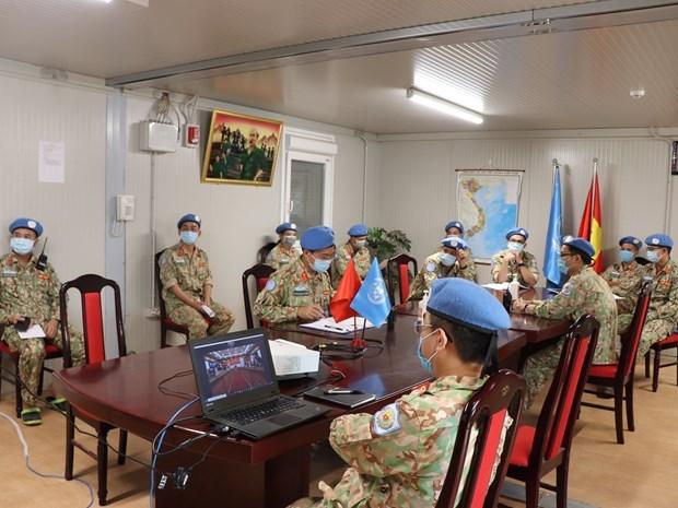 Medecine militaire : efforts inlassables des «Casques bleus» vietnamiens au Soudan du Sud hinh anh 2