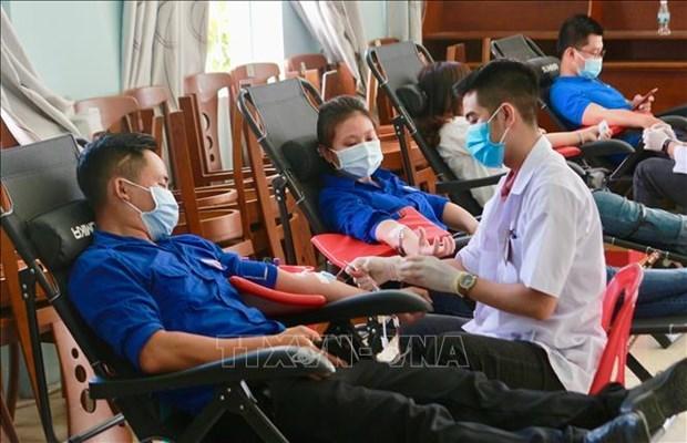 Lancement de la campagne de don du sang