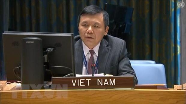 ONU : Le Vietnam le Vietnam appelle le Mali a mettre en œuvre une feuille de route de transition hinh anh 1