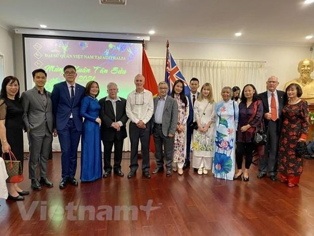 De nombreux Vietnamiens en Australie soutiennent la lutte contre le COVID-19 au Vietnam hinh anh 1