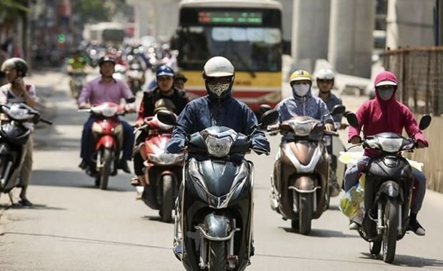 La canicule continue a sevir sur le Nord du Vietnam hinh anh 1