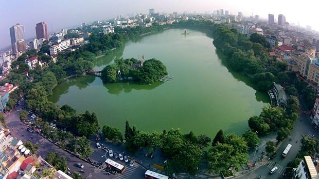 La France coopere avec le Vietnam pour developper les espaces verts a Hanoi hinh anh 1
