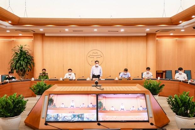 Hanoi prepare 5.000 lits pour les patients de COVID-19 hinh anh 1