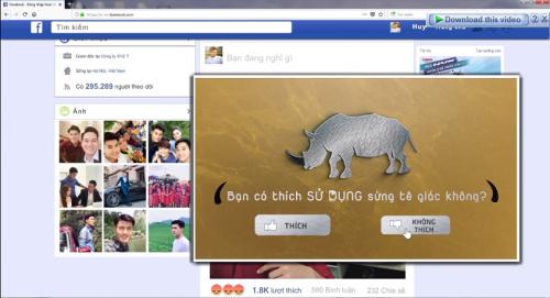 Sortie d'un film mediatique appelant la communaute a cesser d'utiliser les cornes de rhinoceros hinh anh 1