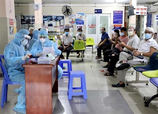 HCM-Ville: mise en service d'un nouvel hopital de campagne pour traiter des patients de COVID-19 hinh anh 1