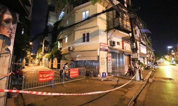 Hanoi s'efforce de retracer et de localiser de nouveaux foyers epidemiques hinh anh 1