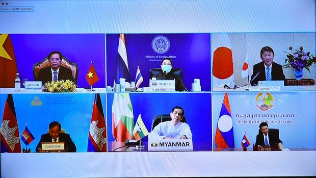 La 14e Conference des ministres des Affaires etrangeres Mekong-Japon hinh anh 1