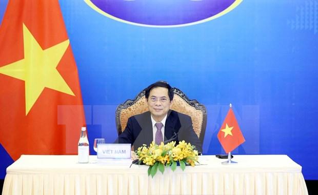 La 14e Conference des ministres des Affaires etrangeres Mekong-Japon hinh anh 2