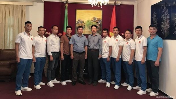 Le Vietnam est pret aux Army Games 2021 en Algerie hinh anh 1