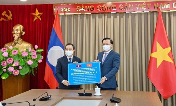 La capitale Hanoi et le Laos favorisent une cooperation multiforme hinh anh 1