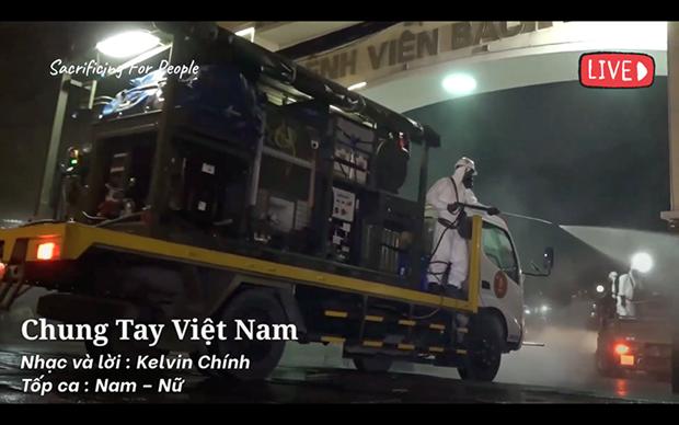 Hanoi va sortir huit chansons pour encourager la lutte anti-epidemique hinh anh 1