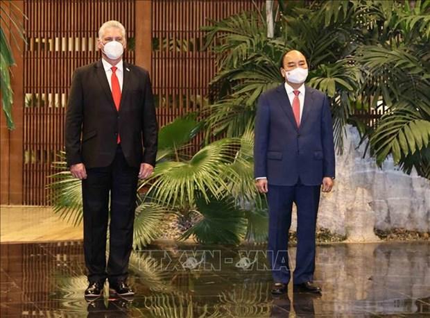 La presse cubaine accorde une attention particuliere a la visite du president du Vietnam hinh anh 1